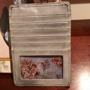 Woman's Euro slide hobo wallet
